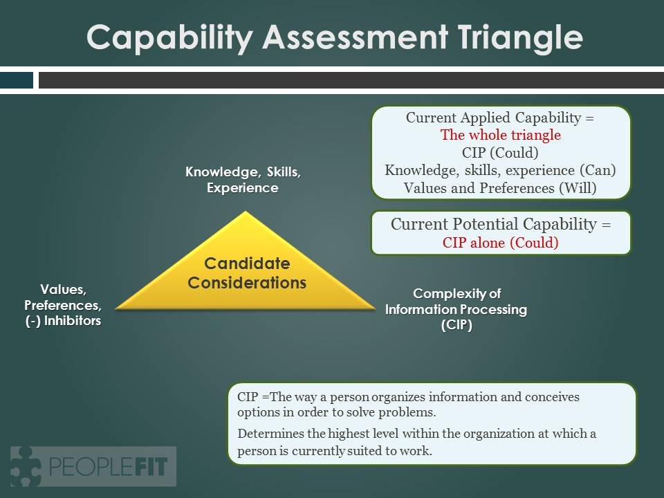 Assessing Potential Employees Knowledge, Skills and Abilities